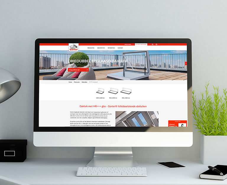 Websites update met responsive design